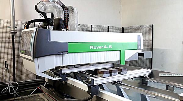 Centrum obróbcze Rover A-S