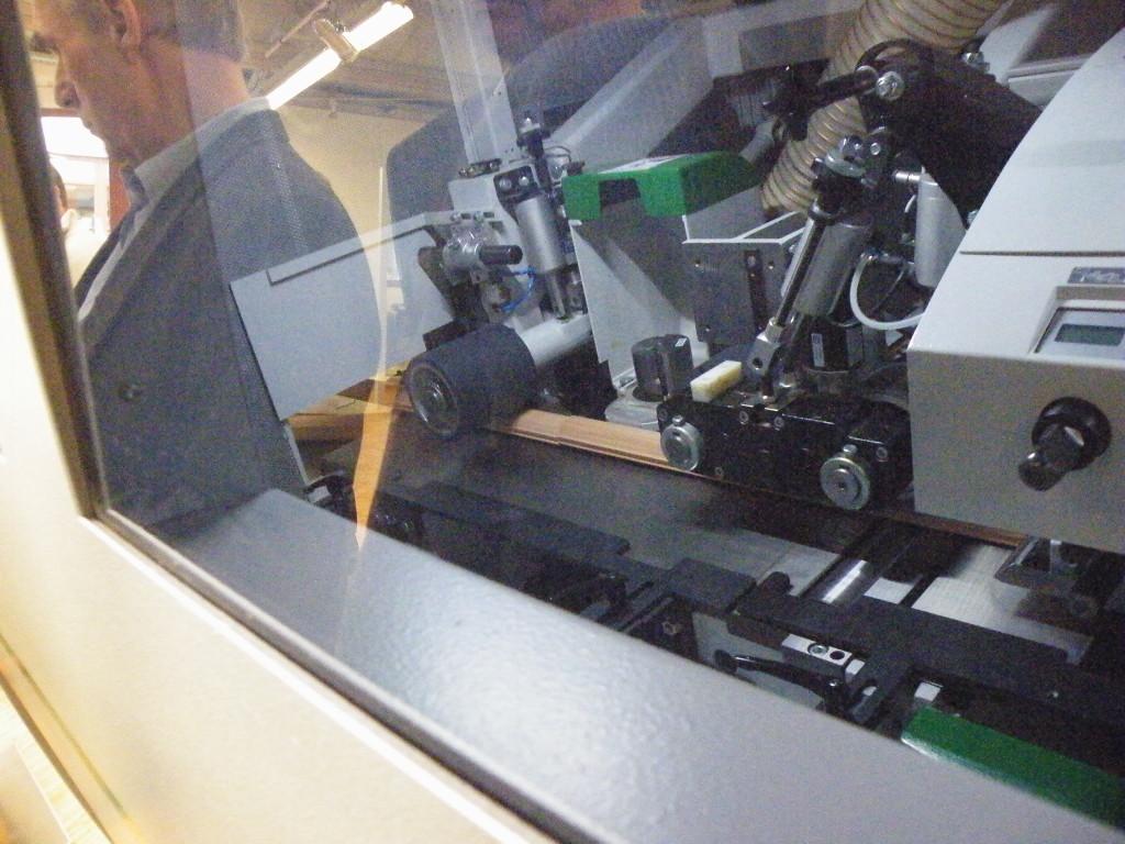Strugarka 4 stronna - proces skrawania